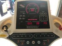 Dream fitness running machine / treadmill with HRM and mp3