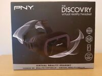 PNY VR The DiscoVRy Headset Virtual Vr Reality Glasses for smartphones