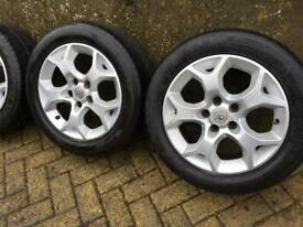 16 inch Vauxhall alloy wheels