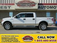 2012 Ford F-150 Oxford White XTR Crew 4X4, 5.0L V8, Convenience