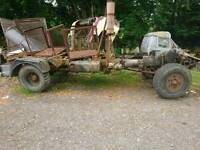 Dodge Renault 50 series 4x4 axels and gearbox