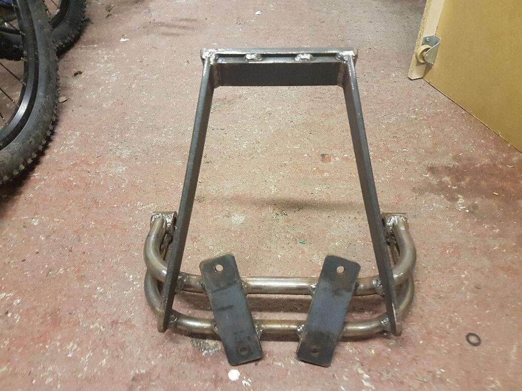 Honda MSX 125 Honda Grom KevTek crash protection - Subframe / wheelie bar |  in Drighlington, West Yorkshire | Gumtree