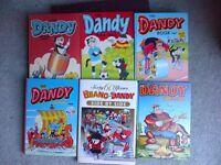 Comics Beano and Dandy Comics Annuals