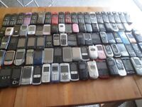 Job Lot 207 x Mobile Phones Untested/Faulty/Working LG Samsung Blackberry Nokia Sony Ericsson