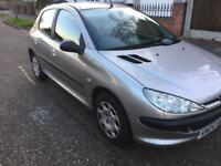 PEUGEOT 206 S STARTS AND DRIVES GREAT EXCELLENT FOR NEW DRIVERS
