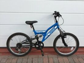 Kids Bike Blue 20 inch with suspension and 6 gears