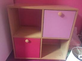 Girls bookcase