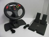 V3 Interact wired Gaming wheel and foot pedal