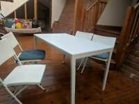 Melltrop IKEA Table and 4 chairs