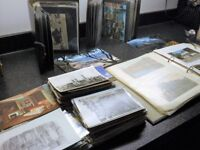 COLLECTION OF NEARLY 600 BRITISH AND FOREIGN POSTCARDS