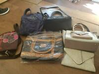 Handbags and Jack wills rucksack