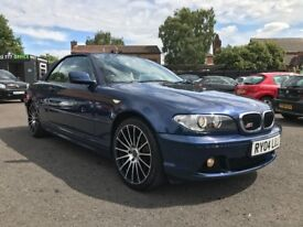 2004 BMW 318 CI SE CONVERTIBLE ** 7 MONTHS MOT + LEATHER UPHOLSTERY **
