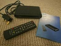 Dion Freeview Set Top Box with control and manual