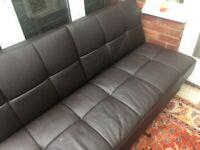 foldable sofa bed (black)-used