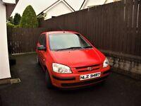 Hyundai GETZ for sale, Newmills, Dungannon. £425