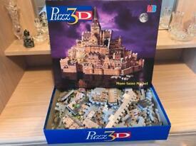 MB puzzle 3D- Mont-Saint-Michel