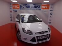 Ford Focus ZETEC TDCI (£20.00 ROAD TAX) FREE MOT'S AS LONG AS YOU OWN THE CAR!!! (white) 2013