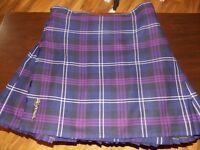 mens kilt and flashes(heritage of scotland tartan)
