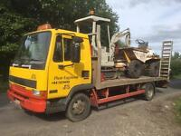 Wanted mini digger any age or condition nationwide cash on collection jcb peljob etc
