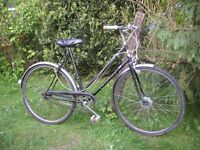 ladies vintage coventry eagle 3 speed bicycle,1960,s classic