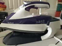 Tefal freemove cordless iron almost new