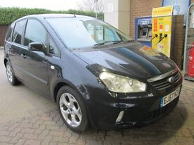 2008 FORD C-MAX 1.6 BLACK PETROL MANUAL Part exchange available / Credit & Debit cards accepted