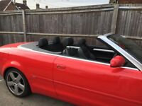 Audi A4 Convertible, Very good condition, new engine with all receipts and 12 months warranty.