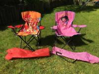 Child's Folding Chairs