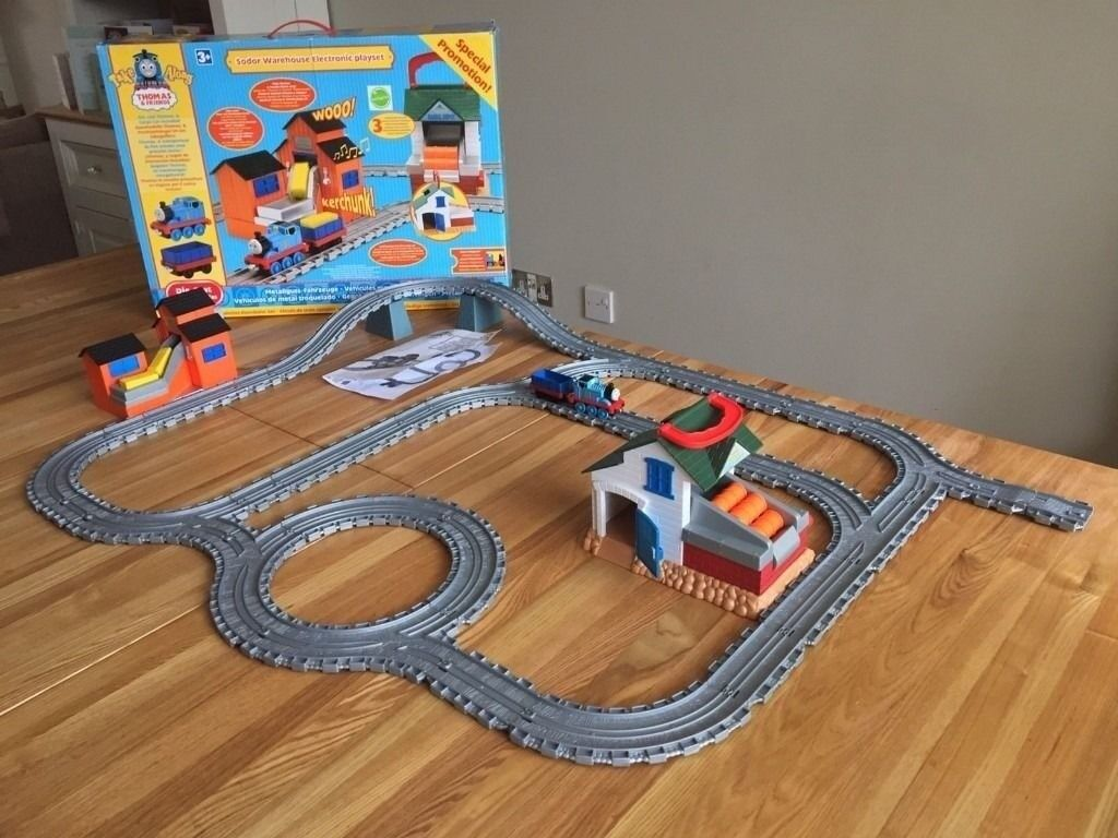Thomas & Friends Take And Play Sodor Warehouse Electronic Playset - Boxed