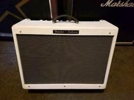 Fender Hot Rod deluxe white lightning