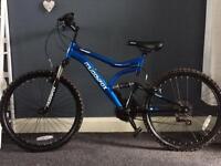 "24"" Muddyfox dual suspension bike"