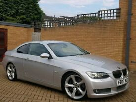 07 REG BMW 335D COUPE - AUTO - 110K GENUINE MILEAGE - PX WELCOME