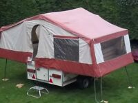 Pennine Aztec trailer Tent / Folding Camper