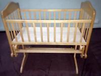 Baby swing crib