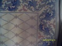 A VERY GOOD QUALITY CARPET 8 feet by 5 feet BY WOODRIDGE LINEN Company . IN V.G.C.
