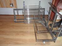 Magic corner unit for corner kitchen cupboard with 500mm right hand door - Pokesdown BH5 2AB