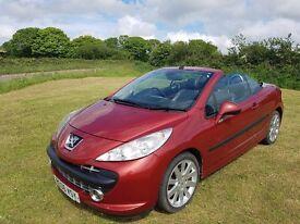 Peugeot 207cc 1.6 petrol