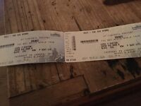 Drake tickets - 2x seated tickets