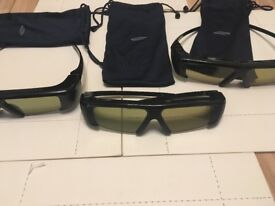 Samsung SSG-P2100T/XC 3D TV Glasses - 3 pairs