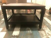 IKEA Black wooden table