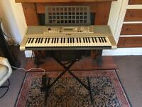 Yamaha E313 Keyboard Organ with folding stand
