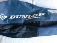 TWO Slazenger Tennis Rackets and DUNLOP double zipped case ALSO single zipped case excellent cond.