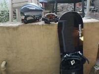 B-Square Snowboard+ helmet for sale