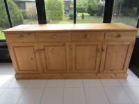 Very Large Pine Sideboard/Counter