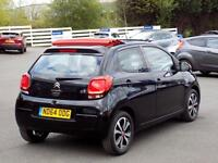 CITROEN C1 1.0 AIRSCAPE FEEL EDITION 5dr CONVERTIBLE ** ONLY 11000 Miles ** (black) 2014