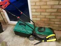Qualcast 1200w elecric lawnmower