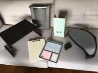 Job Lot Office Goods - Shredder, Laptop Tray Stand, Monitor Stand, Paperchase Homeware