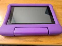 """Used - AMAZON Fire 7 Kids 7"""" Tablet (2019) - 16 GB, Purple"""