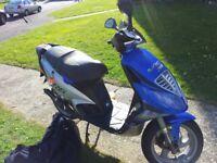 2 x piaggio NRG 50cc scooters SOLD