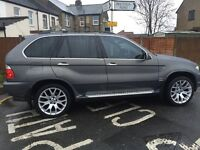 BMW X5 3.0d auto 2005 (55) SPORT EXCLUSIVE EDITION EXCELLENT DRIVE WITH FULL SERVICE HISTORY